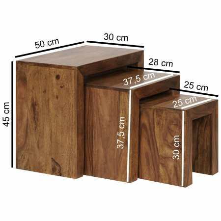 3-osainen sarjapöytä