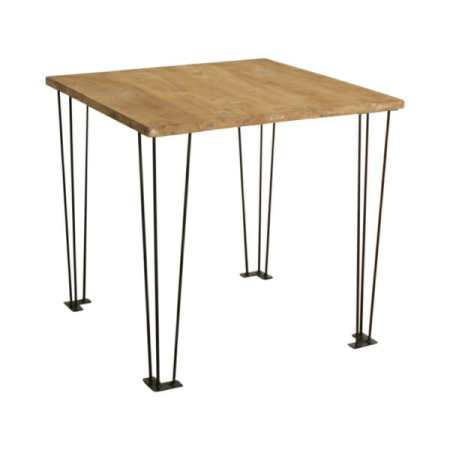 Elements café -pöytä tiikkiä