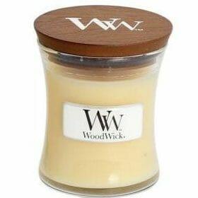WoodWick vanilla been mini