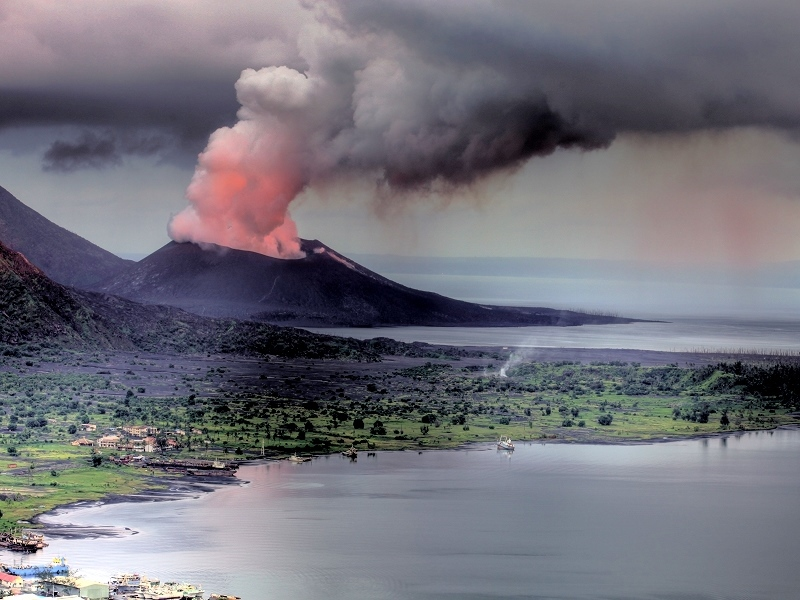 Discovery New Volcanic Island