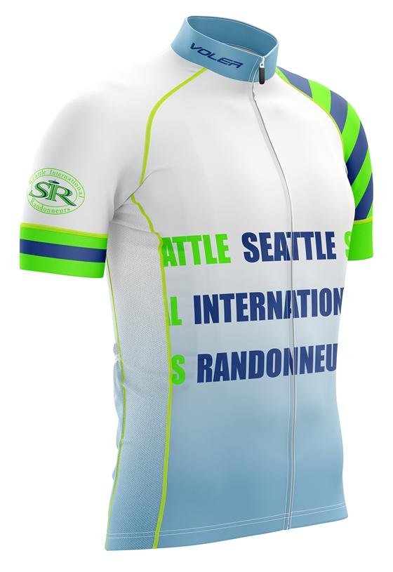 Voler: Full-Custom Ordering - Seattle International Randonneurs - White Design