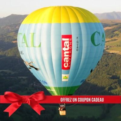 Bon Cadeau Vol en Montgolfiere