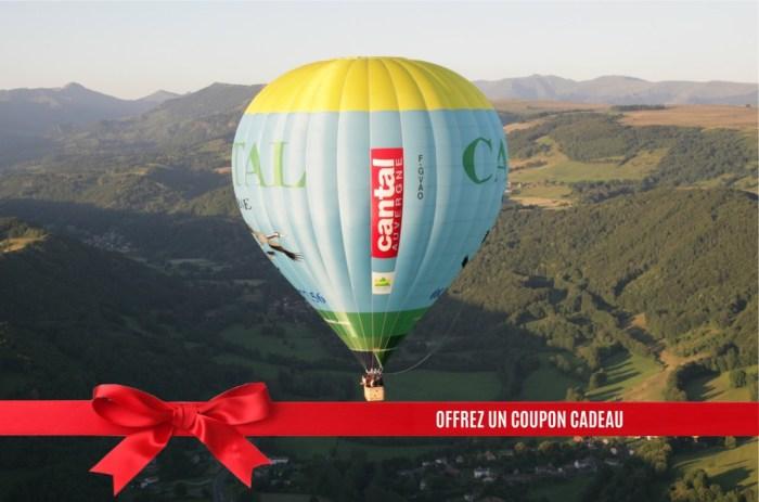 Bon Cadeau montgolfière Cantal