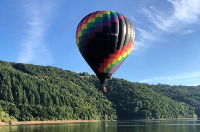 Vol en montgolfière Mariage