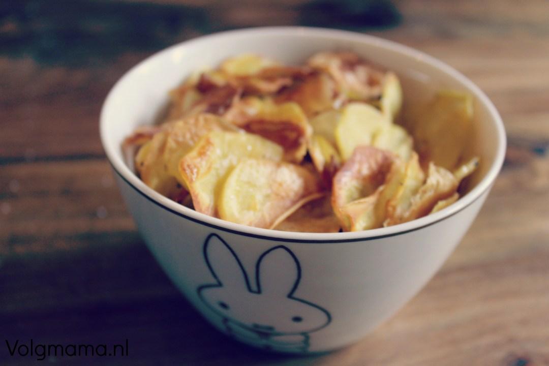 chips - resultaat - oven baked - handgemaakt - recept - volgmama