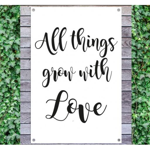 tuindoek-tekst-all-things-grow-with-love-512x512