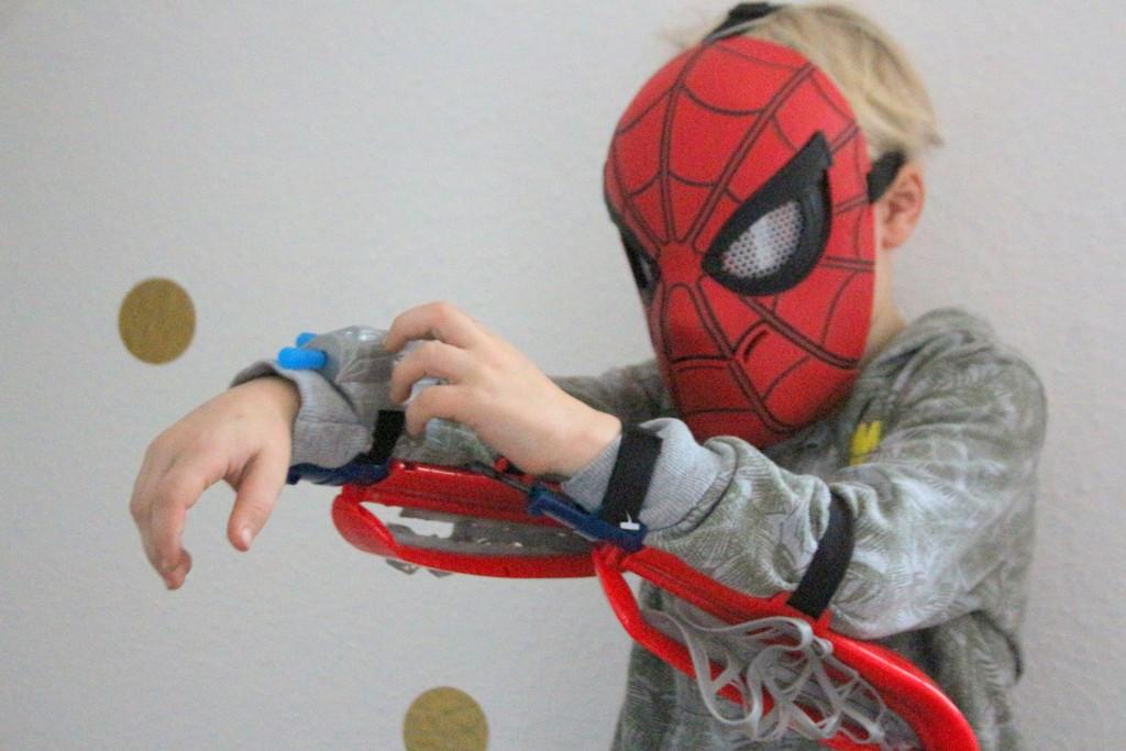 spider-man webvleugels
