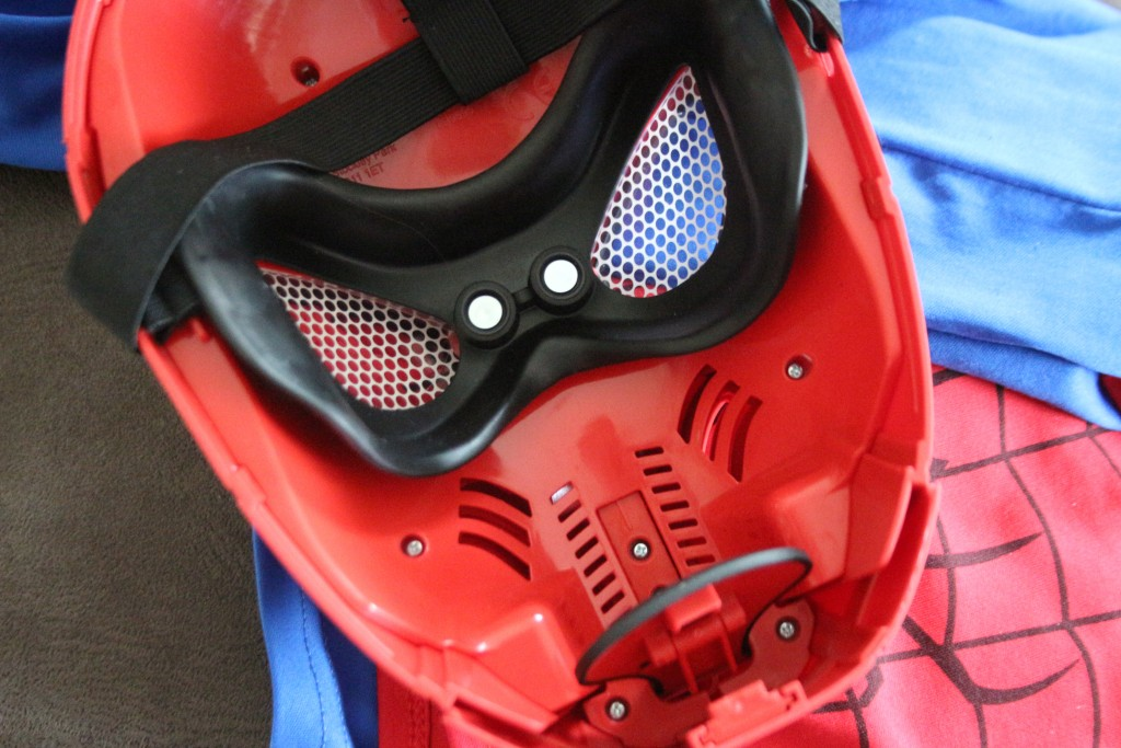 spiderman masker deluxe,