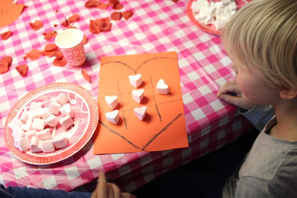 Valentijnsdag spel spekjes
