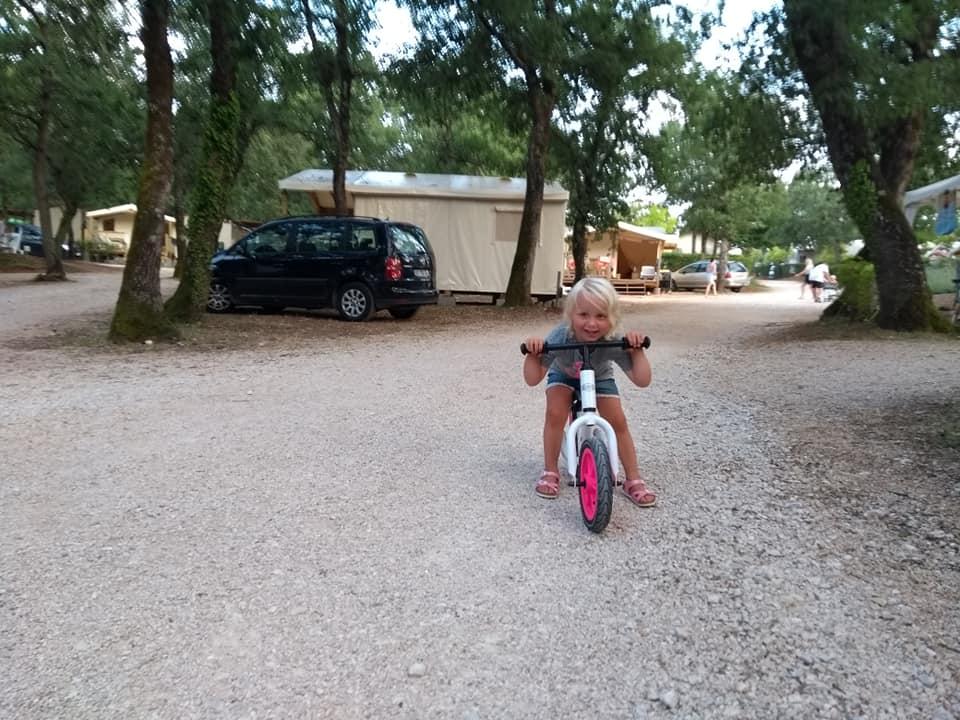 camping glamping Lanterna Istrië Kroatië