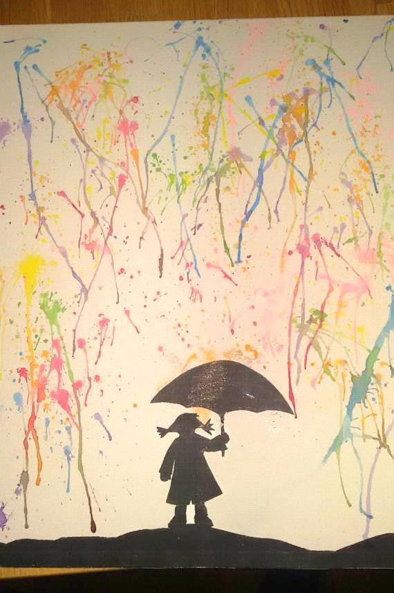 vrolijke-regendruppels-verf-herfst-knutselen