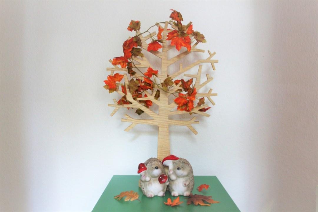 Seizoensboom versieren thema herfst