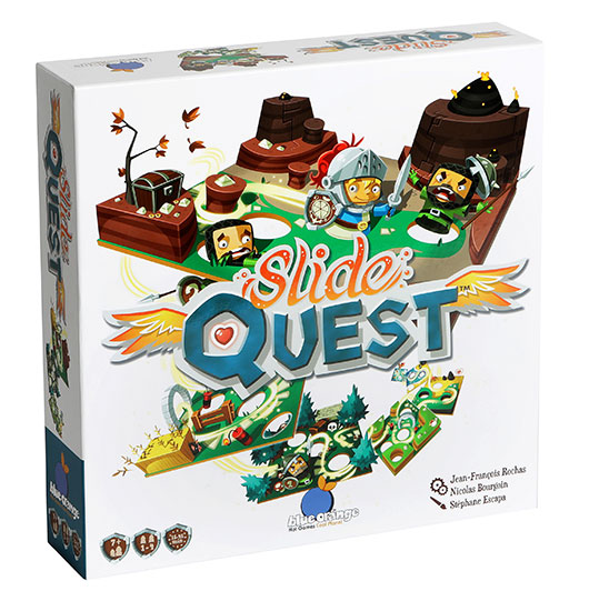 Slide Quest Bordspel Gezelschapsspel Blue Orange Asmodee