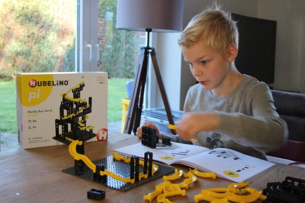 Hubelino Pi Marble Run M set Lego - Ervaring bouwen