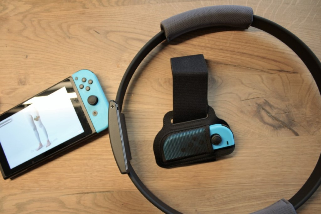Ring Fit Adventure Switch game - Nederlandse review