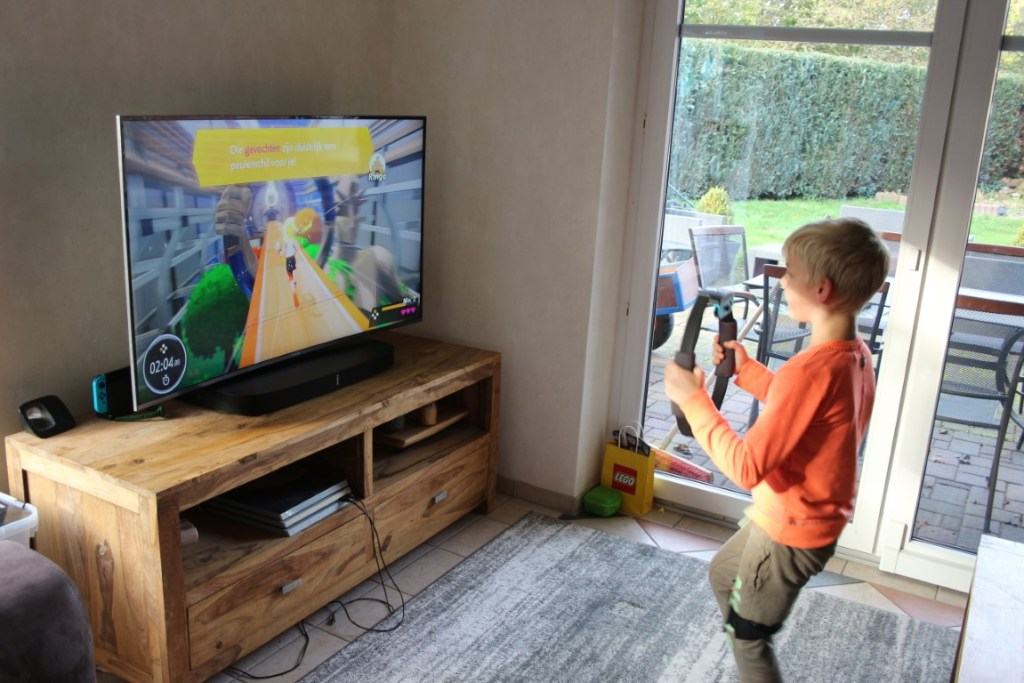Ring Fit Adventure met kinderen - Switch - Review