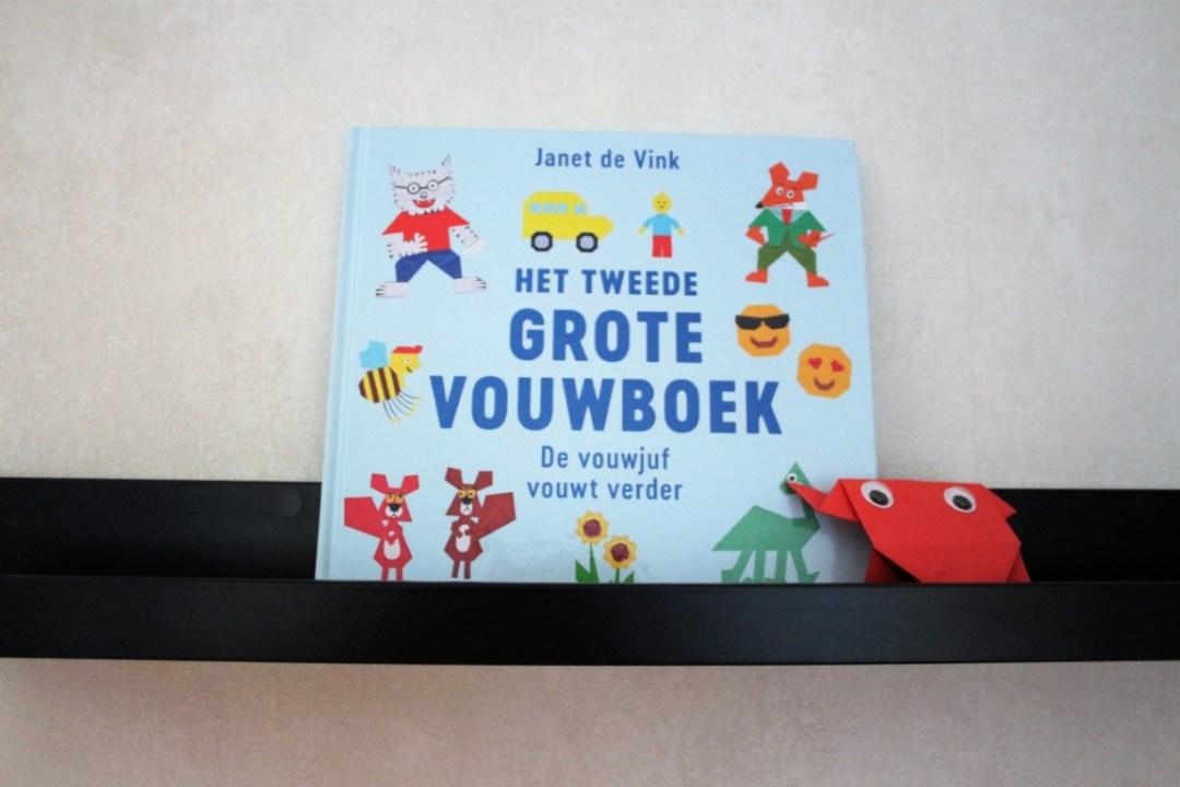Recensie Het tweede grote vouwboek van de Vouwjuf Janet de Vink