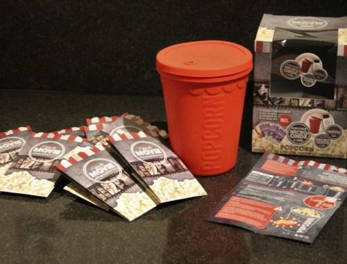 Review siliconen beker Gusta Popcorn maker voor de magnetron