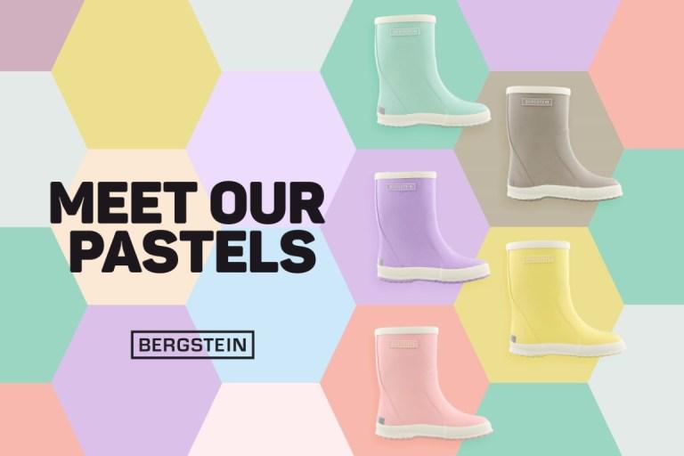 Bergstein pastel collectie 2020 - Alle kleuren