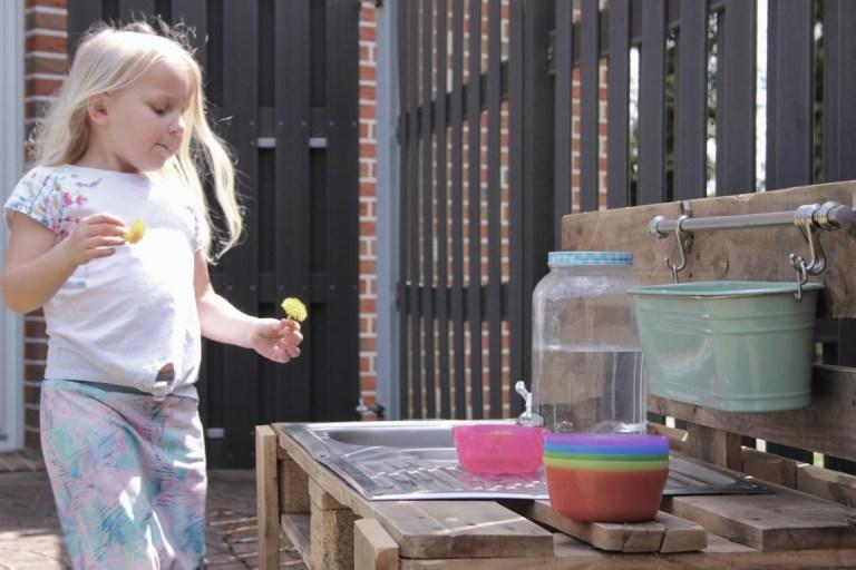Modderkeuken diy - modder keuken maken van pallets