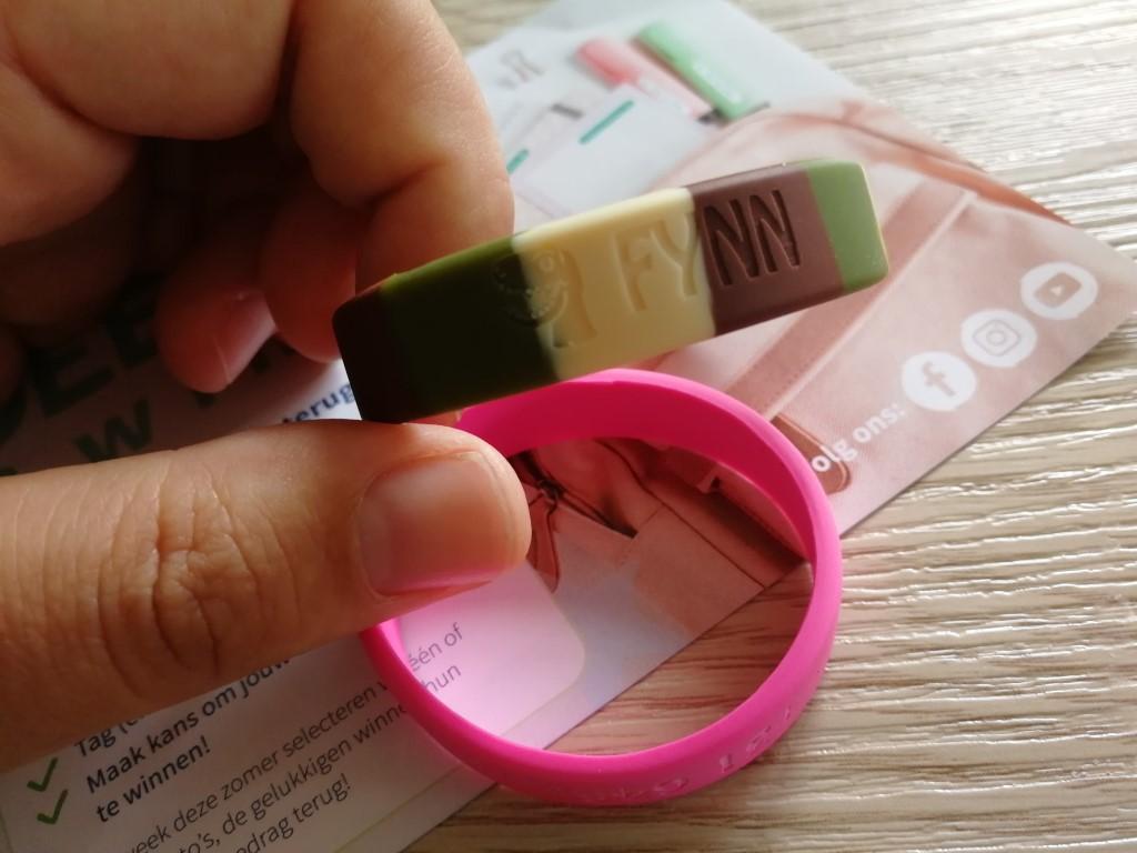 SOS bandje rubber siliconen Goedgemerkt