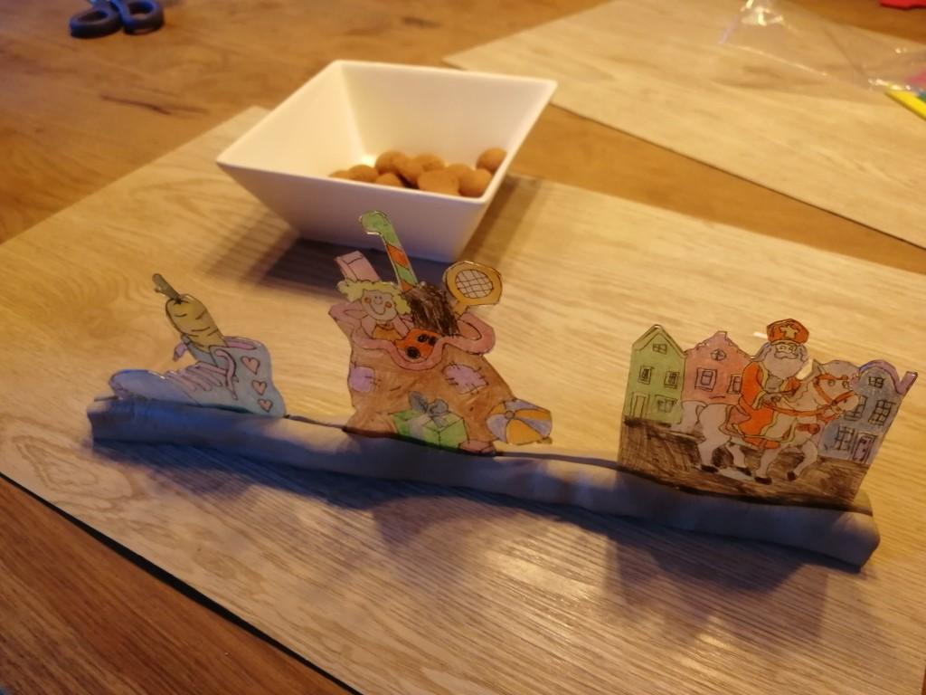 Sinterklaas knutselen met krimpfolie