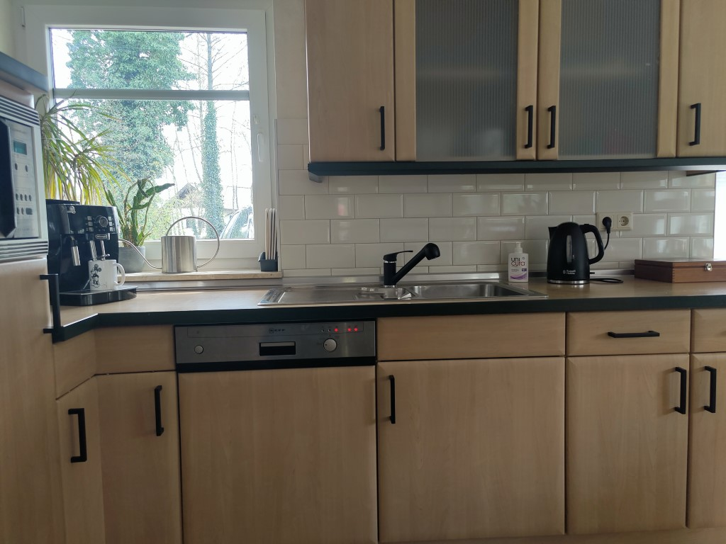Keuken mat zwarte handgrepen joost deurgrepen interieur