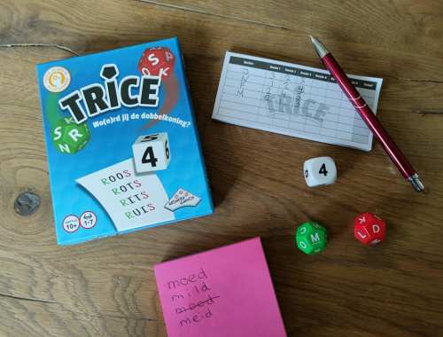Trice dobbelspel Identity Games Review en ervaringen