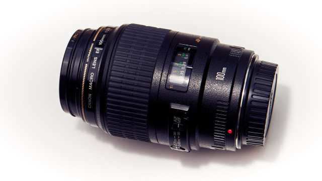 Makroobjektiv Canon 100 f2.8