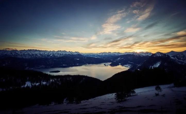 Sony 10-18 (SEL1018) - Sonnenuntergang Berge