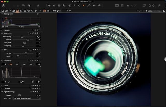 Capture One Workflow: RAW-Entwicklung