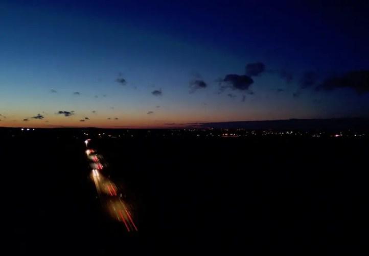 Drohnenfotografie: Nachtfotosmit Langzeitbelichtung