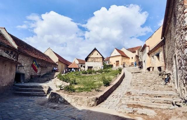 Bauernburg Rosenau / Cetatea Rasnov-Rumänien