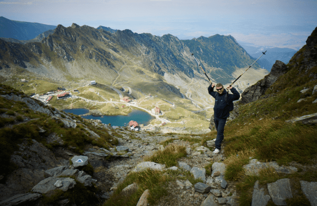 Wandern am Bulea See - Rumaenien