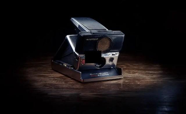 Polaroid SX-70(die klassische Polaroid Kamera)