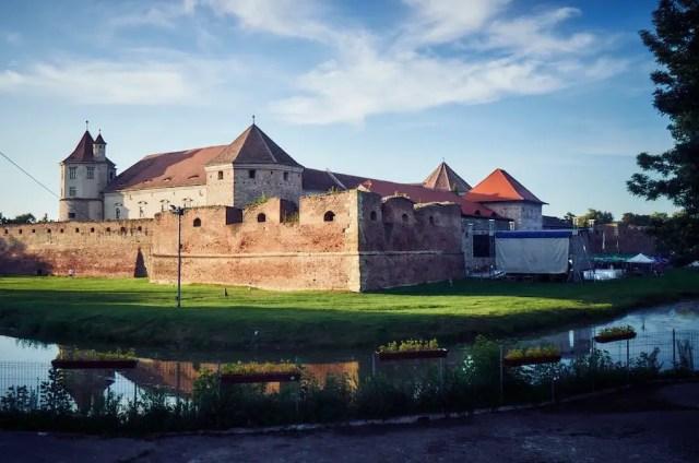 Festung Fogarasch in Rumaenien
