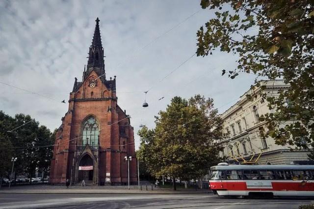 Brünn - Rote Kirche