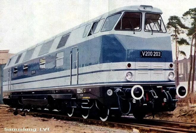 Lok V200 203118 203