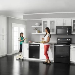 Kitchen Dishwashers Antiqued Cabinets Whirlpool Energy Star Home Appliances