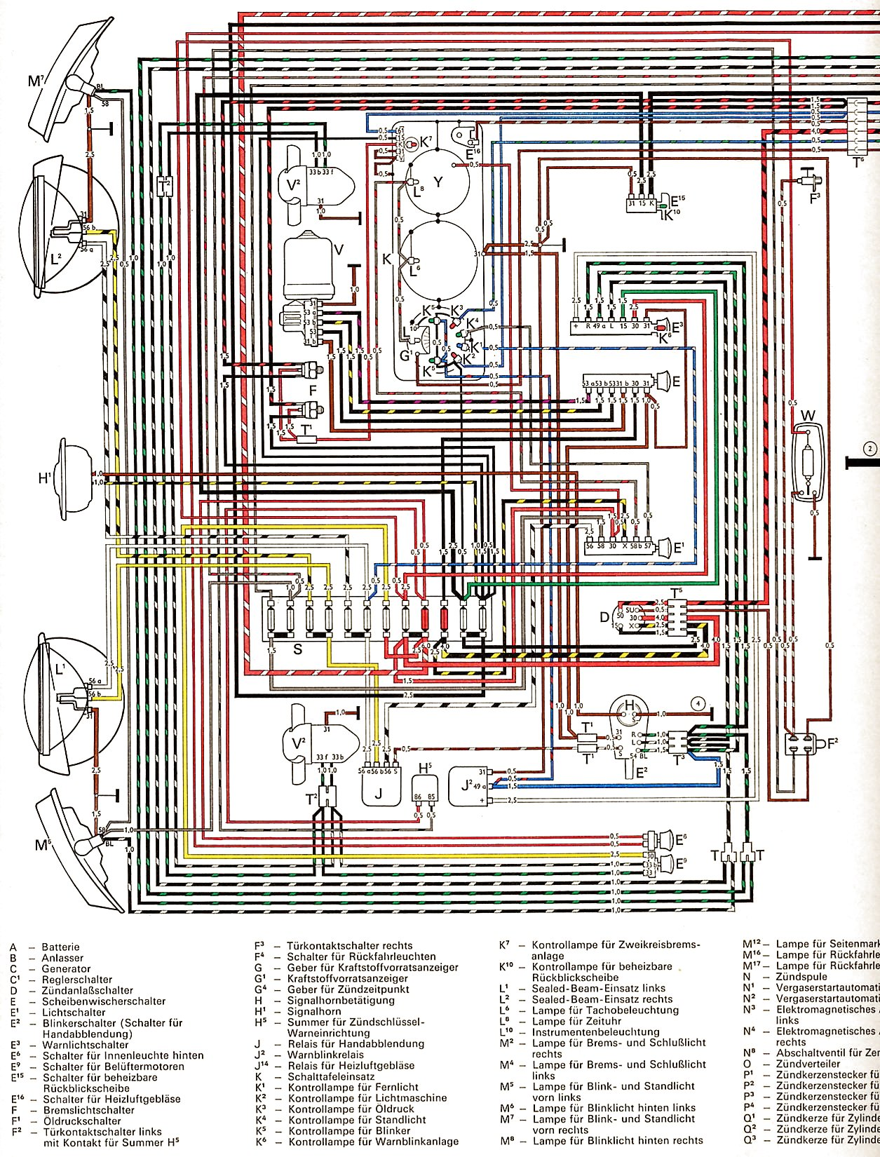 vw 1600 engine diagram transistor contactor wiring with timer diagrams 1 2