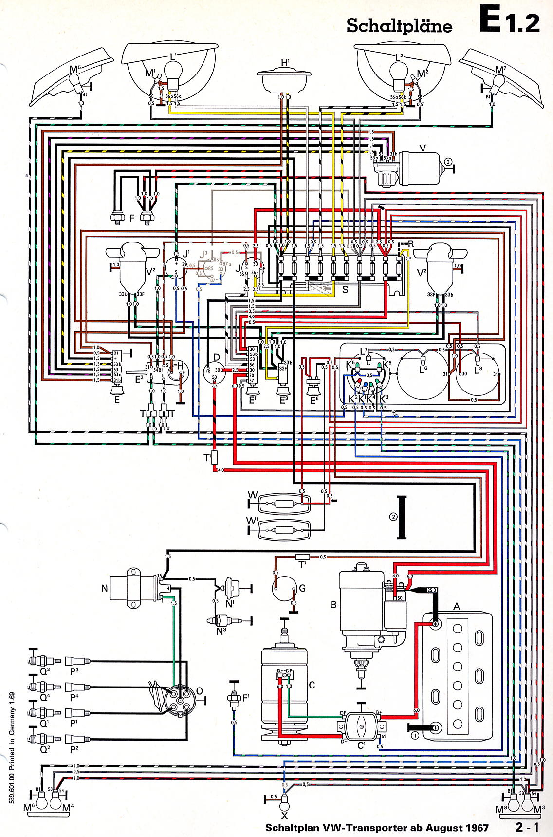 hight resolution of vw t5 wiring diagram download
