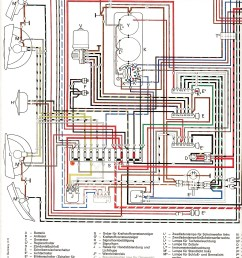 wiring diagram for a 1973 vw super beetle [ 1275 x 1755 Pixel ]