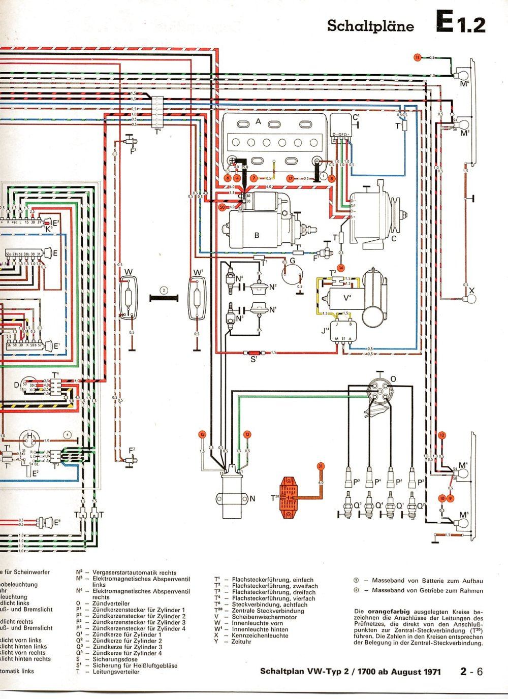 medium resolution of volkswagen type 2 wiring wiring diagram show ev type 2 wiring diagram 1975 vw type 2