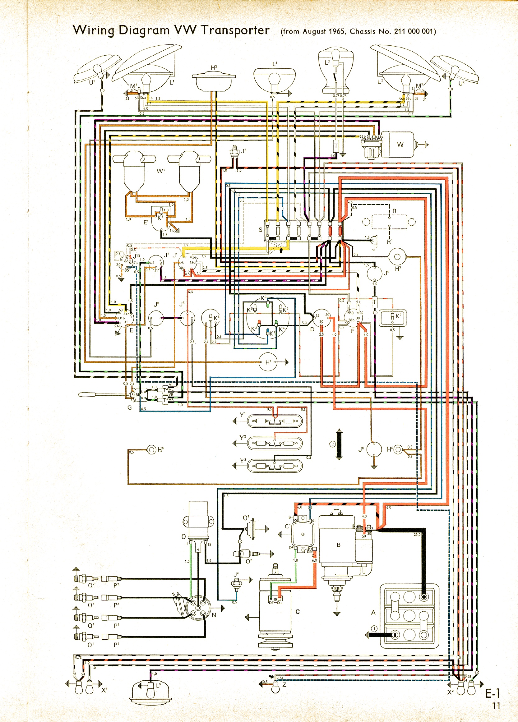 hight resolution of 74 vw alternator wiring diagram