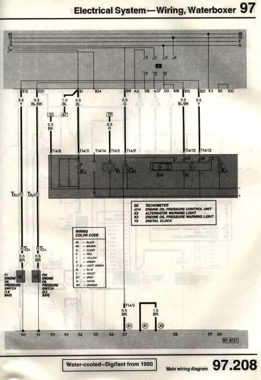 Diagram Key Fuses 1960 Non Usa Diagram Key Fuses 1961