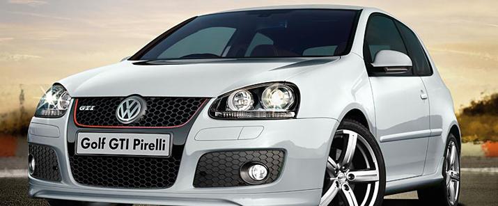 Golf Pirelli GTI Special Edition Timeline Volkswagen UK