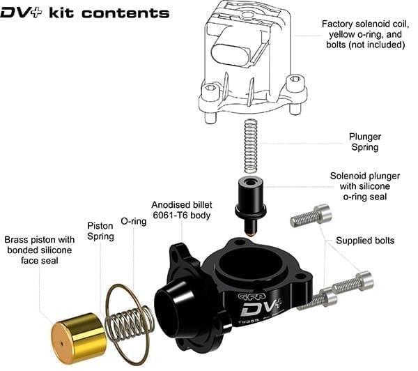 Go Fast Bits DV+ for The VW MK7 Golf R and Audi 8V S3 Part