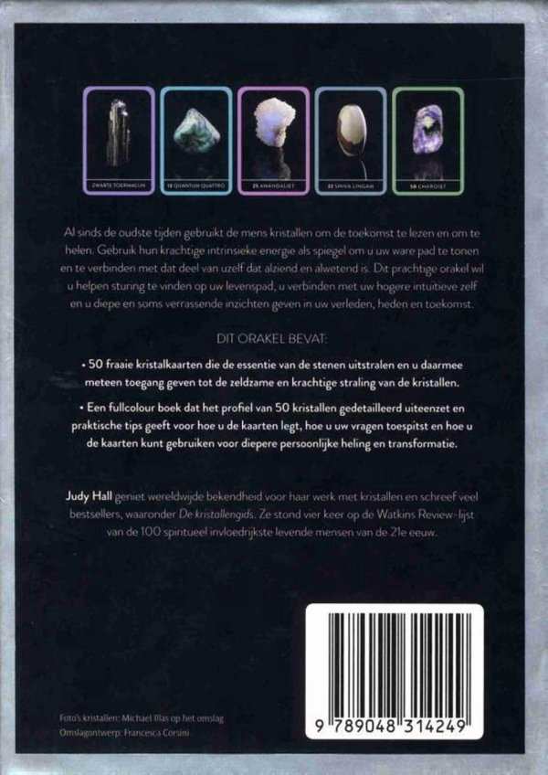 Het kristal, orakel van helende wijsheid achterkant