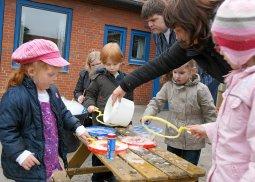 Frühlingsmarkt Kindergarten Arche Seifenblasen