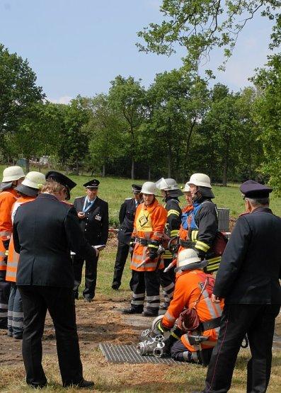 Gemeindeleistungswettbewerbe der Feuerwehr Team